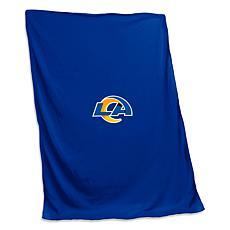 Officially Licensed NFL by Logo Chair Sweatshirt Blanket - LA Rams