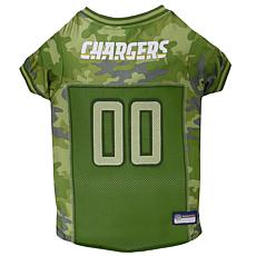 Officially Licensed NFL Camo Jersey - Los Angeles Chargers