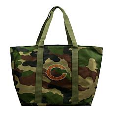Officially Licensed NFL Camo Tote - Bears