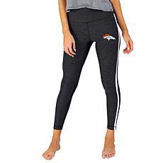 Officially Licensed NFL Centerline Knit Legging - Broncos