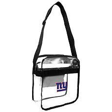 Officially Licensed NFL Clear Carryall Crossbody - Giants