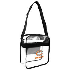 Officially Licensed NFL Clear Gameday Tote - Chicago Bears
