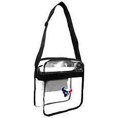 Officially Licensed NFL Clear Gameday Tote - Houston Texans