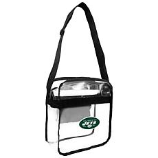 Officially Licensed NFL Clear Gameday Tote - New York Jets