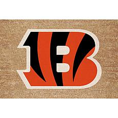 Officially Licensed NFL Colored Logo Door Mat - Bengals