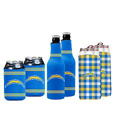 Officially Licensed NFL Coozies 6-pack