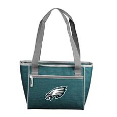 Officially Licensed NFL  Crosshatch 16-Can Cooler Tote - Eagles
