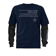 ec236c74d Officially Licensed NFL Dallas Cowboys 3-in-1 T-Shirt Combo