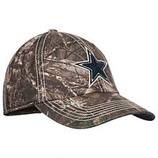 Officially Licensed NFL Dallas Cowboys Realtree Frost Camouflage Cap