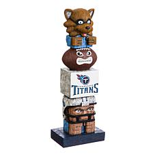 Officially Licensed NFL Decorative Tiki Totem - Titans