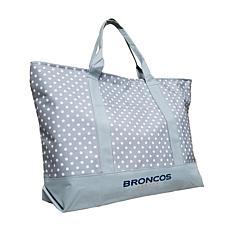 Officially Licensed NFL Dot Tote - Denver Broncos