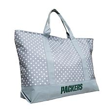 Officially Licensed NFL Dot Tote - Green Bay Packers