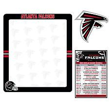 Officially Licensed NFL Dry Erase Board with Magnet Set