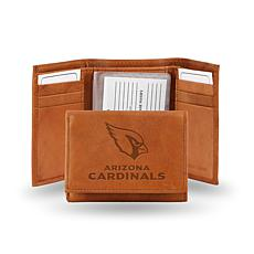 Officially Licensed NFL Embossed Trifold Wallet - Cardi