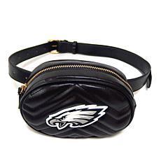 be103fef073c Officially Licensed NFL Faux Leather Hip Belt Bag by Cuce Shoes