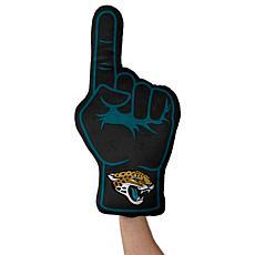 Officially Licensed NFL Foam Finger Plush Pillow-Jacksonville Jaguars