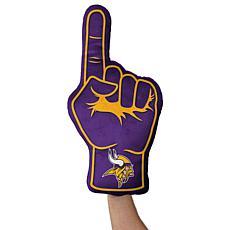 Officially Licensed NFL Foam Finger Plush Pillow - Minnesota Vikings