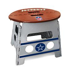Officially Licensed NFL Folding Step Stool - Dallas Cowboys