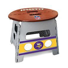 Officially Licensed NFL Folding Step Stool - Minnesota Vikings