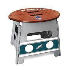 Officially Licensed NFL Folding Step Stool - Philadelphia Eagles
