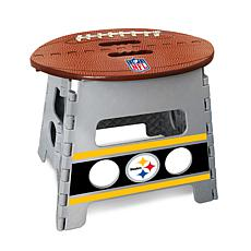 Officially Licensed NFL Folding Step Stool - Pittsburgh Steelers