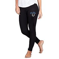 Officially Licensed NFL Fraction Legging by Concept Sports - Colts
