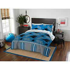 Officially Licensed NFL Full Bed in a Bag Set - Carolina Panthers