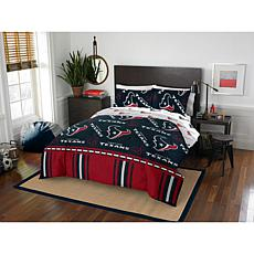 Officially Licensed NFL Full Bed in a Bag Set - Houston Texans