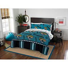 Officially Licensed NFL Full Bed in a Bag Set - Jacksonville Jaguars