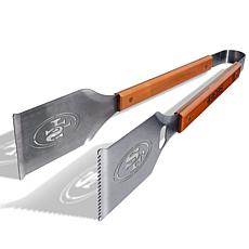 Officially Licensed NFL Grill-A-Tongs - San Francisco 49ers