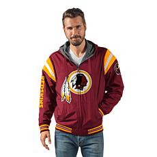 best authentic 2808d c5631 Officially Licensed NFL Hardball Reversible Hooded Jacket by Glll
