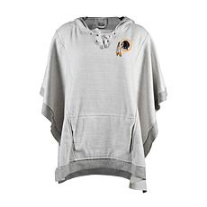 quality design 17e5c 3dea3 Officially Licensed NFL Heathered Hoodie Poncho - Washington Redskins