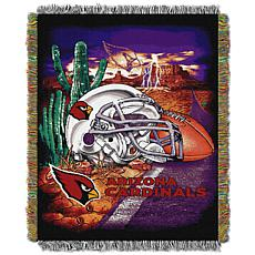 Officially Licensed NFL Home Field Advantage Throw Blanket - Cardinals