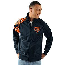 Officially Licensed NFL Interception Full Zip Track Jacket by Glll ...