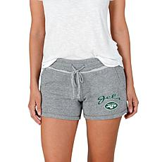 Officially Licensed NFL Mainstream Ladies Knit Shorts - Jets