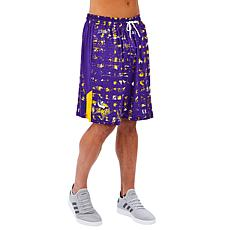 Officially Licensed NFL Men's Printed Grid Short by Zubaz