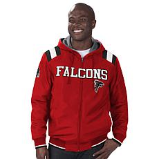 Officially Licensed NFL Men's Reversible Hooded Jacket  by Glll
