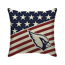 Officially Licensed NFL Pegasus Sports Americana Pillow - Cardinals