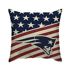 Officially Licensed NFL Pegasus Sports Americana Pillow - Patriots