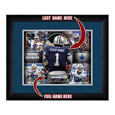 Officially Licensed NFL Personalized Action Collage