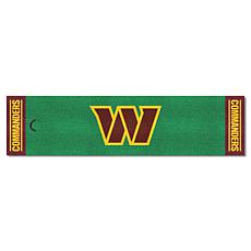 Officially Licensed NFL Putting Green Mat  - Washington Redskins