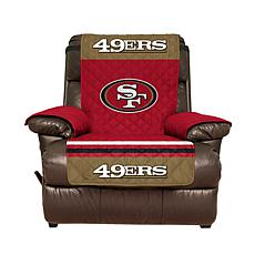 Officially Licensed NFL Recliner Cover - San Francisco 49ers