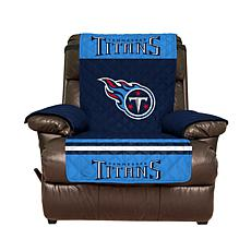 Officially Licensed NFL Recliner Cover - Tennessee Titans