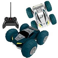 Officially Licensed NFL Remote Control Flip Car - Philadelphia Eagles