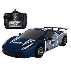 Officially Licensed NFL Remote Control Racer - New England Patriots