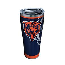 Officially Licensed NFL Rush Stainless Steel Tumbler - Chicago Bears