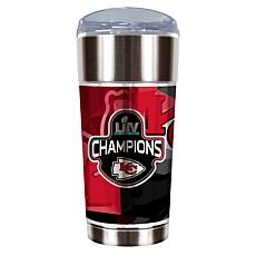 Officially Licensed NFL SB LIV Champs 24 oz. Eagle Tumbler - Chiefs