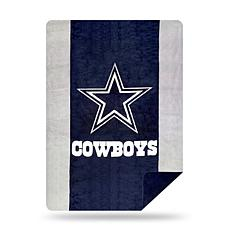 Officially Licensed NFL  Sliver Knit Throw - Cowboys