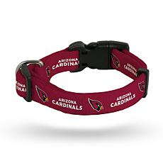 Officially Licensed NFL Small Pet Collar - Cardinals
