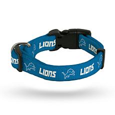Officially Licensed NFL Small Pet Collar - Lions